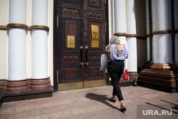 Виды Екатеринбурга, церковь, храм, большой златоуст, прихожанка