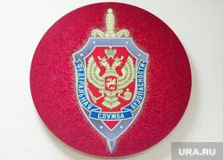 Открытие экспозиции в честь 100-летнего юбилея органов безопасности России. Челябинск, фсб, герб