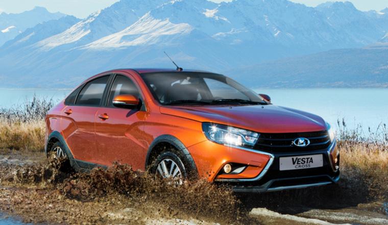 Волжский автомобильный завод запустил массовое производство Лада Vesta Cross