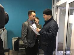 В штаб Навального не пускают силовиков с повесткой. Челябинск
