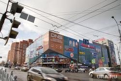 Фасады зданий изменяющиеся к ЧМ-2018. Екатеринбург, тц алатырь