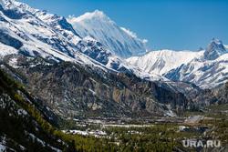 Клипарт depositphotos.com, альпинизм, вершина горы, горы зимой, гималаи, горы