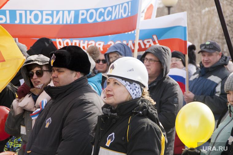 Первомайский митинг. Салехард
