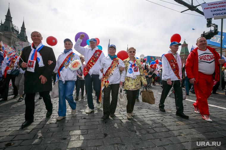 Первомайская демонстрация в Москве на Красной площади. Москва, первомайская демонстрация, первомай, красная площадь