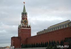 Клипарт. Административные здания. Москва, город москва, кремль, спасская башня, площадь красная