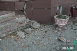 Аварийный жилой дом по адресу Коли Мяготина 74. Курган