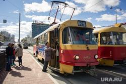 Ремонт дорог в Екатеринбурге, трамвай, общественный транспорт, маршрут26