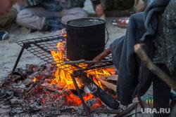 Сплав для школьников по реке Тром-Аган. Сургут , костер, туризм, котелок, огонь