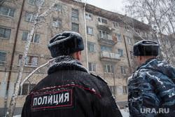 Обрушение кровли жилого дома по ул. 50 лет ВЛКСМ. Тюмень, полиция, обрушение крыши