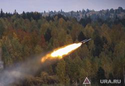 Выставка вооружений Russia Arms Expo-2013. RAE. Нижний Тагил, военная техника, испытательный полигон, ракета, выстрел