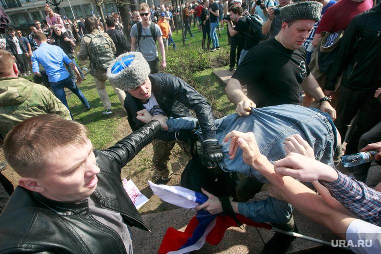 Несанкционированный митинг на Пушкинской площади. Москва, пушкинская, митинг