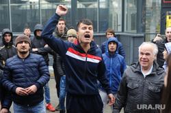 Алексей Навальный встретился с волонтерами своего штаба, выступил на митинге против Томинского ГОК и провел пресс-конференцию для журналистов. Челябинск, мигранты