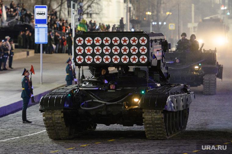 Генеральная репетиция парада войск ЦВО на площади 1905 года. Екатеринбург, армия россии, тос-1а