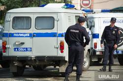 Ремонт автодорожного моста между Екатеринбургом и Первоуральском, конвой, полиция россии, гуфсин