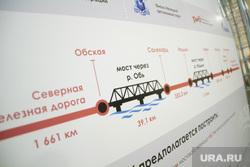 Совещание по строительству Северного широтного хода и закладка капсулы в основание будущего моста через Обь. Салехард. 11 мая 2018г
