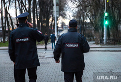 Шествие студентов радиофака. Екатеринбург, полиция