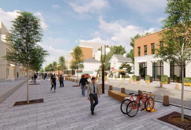 Власти выносят наградсовет проект новой пешеходной улицы