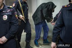 Суд по владельцу машины киллера Тимониченко. Екатеринбург, уголовное дело, конвой, арестованный, задержанный