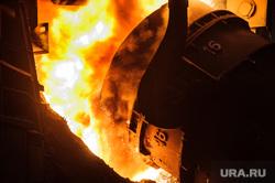 Цех проката широкой балки Нижнетагильского металлургического комбината. Нижний Тагил, металлургия, промышленное предприятие
