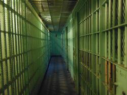 Открытая лицензия на 04.08.2015. Тюрьма. Наручники. Криминал., сизо, клетка, тюрьма