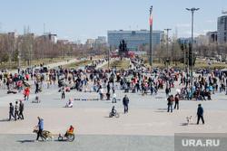 Первомайская демонстрация. Пермь, город пермь, праздник, пермская эспланада