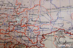 Законодательное собрание Челябинской области. Челябниск, карта урфо