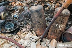 Сгоревшие сельские дома. Мыркайское, пожарище, пепелище, газовые баллоны, чп