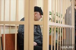 Арест криминального авторитета Рахмана Абдуллаева, в суде Центрального района. Челябинск
