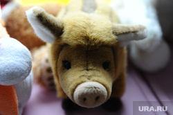 Искорка. Движение помощи онкобольным детям. Челябинск., игрушка, поросенок