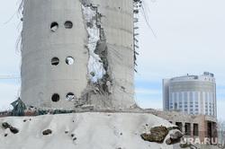 Снос недостроенной телевизионной башни. Екатеринбург, развалины, руины, недостроенная телебашня, снос телебашни