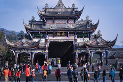 Китай. Открытая лицензия на 19.08.2015, храм, китай, пагода
