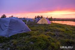 Палаточный лагерь спасателей Авиалесохраны. Салехард, туризм, палатки