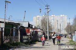 Балки - временное жилье построенное в советское время. Сургут, временное жилье, новостройка, балок, поселок взлетный