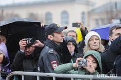 Алексей Навальный встретился с волонтерами своего штаба, выступил на митинге против Томинского ГОК и провел пресс-конференцию для журналистов. Челябинск, митинг