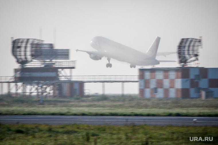 Очередной споттинг в Кольцово. Екатеринбург, аэропорт кольцово, самолет, туман, антена радиолокатор