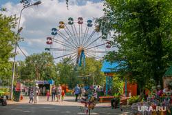ЦПКиО города Кургана, лето, цпкио, центральный парк культуры и отдыха кургана