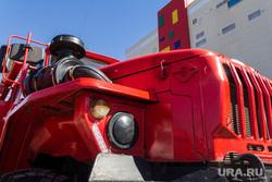 Пожарно-тактические учения в торгово-развлекательном комплексе «Семейный парк». Магнитогорск, пожарная машина, проверка, учения, мчс