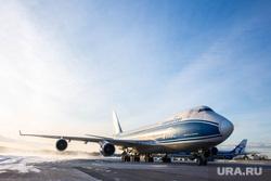 Прибытие рейса из Амстердама в Кольцово с цветами на борту. Екатеринбург, самолет
