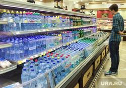 Точки продажи воды в центре Екатеринбурга, питьевая вода