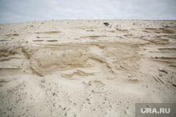 Взятие проб песка по уголовному делу против бывшего главы Сургута Попова Д.В. Сургут, песок, песчаная насыпь