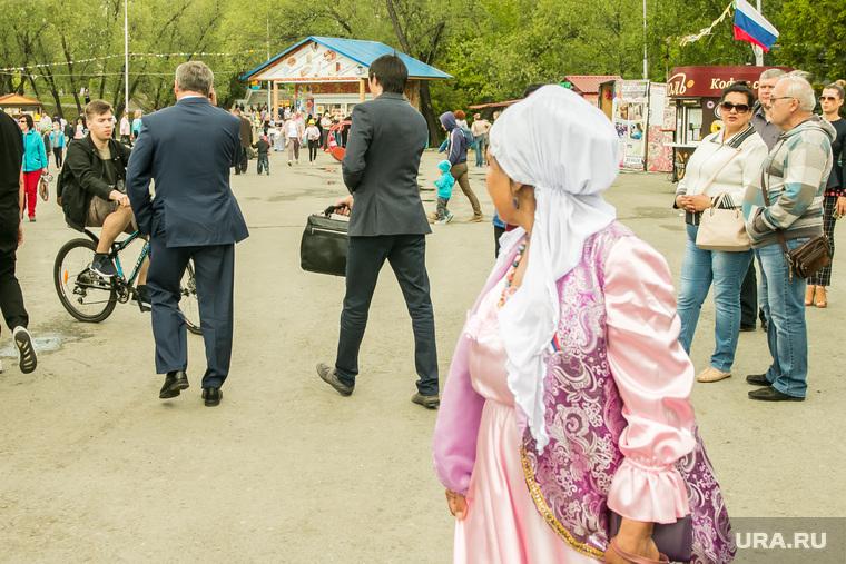 Празднование Дня России. Курган, кокорин алексей