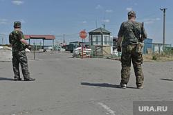 Луганск КПП в руках ЛНР, кпп, граница