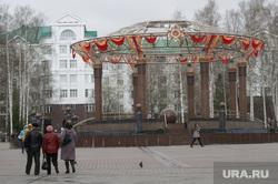 Правительство и мэрии перед 9 мая. Ханты-Мансийск, Нижневартовск, город ханты-мансийск, ротонда