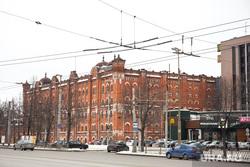 Мельница Борчанинова. Екатеринбург, макдоналдс, мельница борчанинова, улица челюскинцев 108