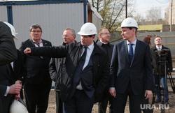 Врио губернатора Пермского края Максим Решетников проинспектировал начало строительства нового зоопарка в Перми, решетников максим