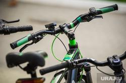 Июнь в Екатеринбурге, велосипед, руль, активный отдых