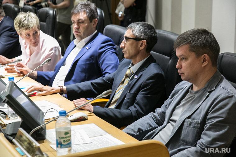 Заседание тюменской городской думы. Тюмень, абукин динар, безбородов юрий