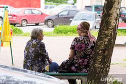 Люди. Санкт-Петербург, пенсионеры, сплетницы, бабки