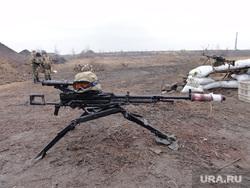 Фотографии с передовой. Украина. ДНР, пулемет
