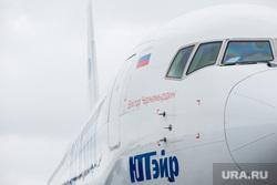 Первый полёт самолета «Виктор Черномырдин» (Boeing-767) авиакомпании Utair из аэропорта Сургут , utair, самолет, ютэир, боинг 767, борт виктор черномырдин